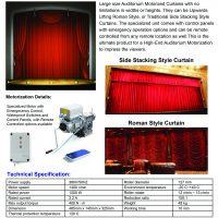 Auditorium Curtain