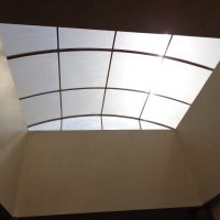 fixed ceiling shade