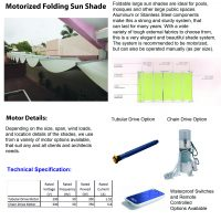 Motorized Retractable Shade-1